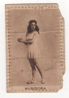 """Savons Biette. Paris. Musidora. Carton Publicitaire """"Parfum Incomparable Du Savon Lyatris"""". - Advertising"""
