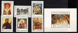 BULGARIA \ BULGARIE - 1968 - Monastire De Rila Xem Siecle - 6v + Bl** - Bulgaria