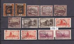 Saargebiet - 1922/27 - Sammlung - Gest. - 1920-35 Saargebiet – Abstimmungsgebiet