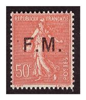 FM  N° 6 C Neuf Charnière M Rapproché - Militärpostmarken