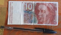 10 Francs Suisses Euler - Schweiz
