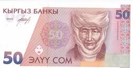 Kyrgyzstan Россия 50 сом 1994 UNC - Kirghizistan