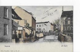 1 Cpa Colorisée De Wavre ; La Dyle Avec Le Pont - Wavre