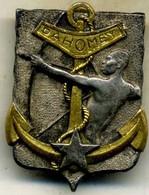 Insigne Bâtiment Autonome Du DAHOMEY___drago - Navy