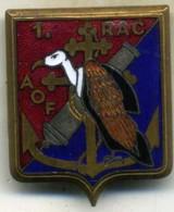 Insigne Du 1er Rgt D Artillerie Coloniale, AOF___mourgeon - Navy