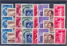 Nrs. 728/736 (3X) Postgaaf ** Prachtig  MNH - Belgique