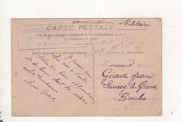 Cachet Infirmerie Du Secteur Du Bois D Oye Couvent De Bavillier - War 1914-18