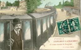 80 - J'arrive à Longroy Gamaches Et Vous Envoie Le Bonjour - France