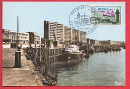 Carte Maximum 1967 - Boulogne Sur Mer YT 1503 - 62  Boulogne Sur Mer - Maximum Cards