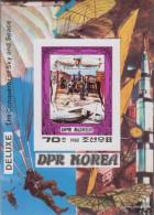 North-Korea Block74B (complete Issue) Unmounted Mint / Never Hinged 1980 Aviators - Korea, North