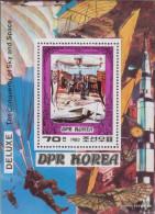 North-Korea Block74a (complete Issue) Unmounted Mint / Never Hinged 1980 Aviators - Korea, North