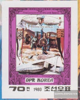 North-Korea 2001B (complete Issue) Unmounted Mint / Never Hinged 1980 Aviators - Korea, North