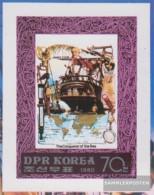 North-Korea 1989B (complete Issue) Unmounted Mint / Never Hinged 1980 Meeresforscher And Sailor - Korea, North