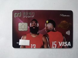 China, NBA, Basketball, Star, (1pcs) - Carte Di Credito (scadenza Min. 10 Anni)