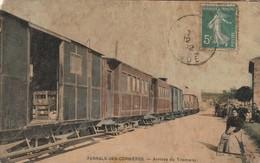11/ Ferrals Des Corbières - Arrivée Du Tramways - Carte Colorisé Manque Un Angle - Francia