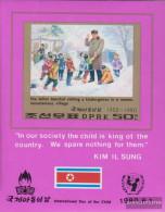 North-Korea Block69B (complete Issue) Unmounted Mint / Never Hinged 1980 International Day Of Kinof - Korea, North