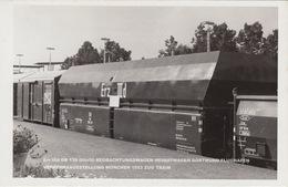Erz IIId DB 139 00tz50 BEOBACHTUNGSWAGEN HEIMATWAGEN DORTMUND FLUGHAFEN / VERKEHRSAUSSTELLUNG MÜNCHEN 1953 ZUG TRAIN - Treinen