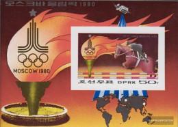North-Korea Block60B (complete Issue) Unmounted Mint / Never Hinged 1979 Olympics Summer '80 - Korea, North