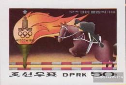North-Korea 1865B (complete Issue) Unmounted Mint / Never Hinged 1979 Olympics Summer 1980 - Korea, North