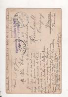 Cachet Internement Des Prisonniers De Guerre Finhaut Suisse - Guerra 1914-18