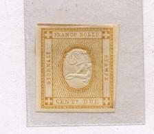 1320 C - Regno D'Italia - Cifra In Rilievo E Nuovo Colore (giallo) -  2 C. - Vari