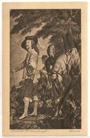 MK 73 OLD POSTCARD  , FINE ART , PAINTINGS , MUSEE DU LOUVRE , GAINSBOROUGH , Charles 1ier - Museum