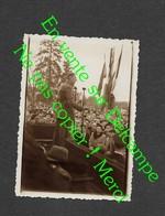 Discours De De Gaulle à Châlons ? (à Situer Exactement ) Petite Photo De Famille Année 50 - 6X8,5 Cm Env - Personalidades Famosas