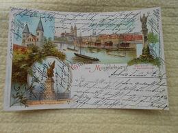 Ak Gruss Aus Magdeburg 1899 - Magdeburg