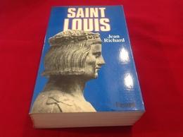 1983, SAINT LOUIS PAR JEAN RICHARD, ÉDITIONS FAYARD - Geschiedenis