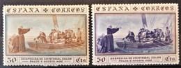 SPAIN 1930 - MLH - Sc# 427, 429 - 30c 50c - 1889-1931 Königreich: Alphonse XIII.