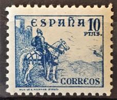 SPAIN 1936/40 - MLH- Sc# 655 - 10PTAS - 1931-50 Unused Stamps