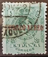 SPAIN 1920 - Canceled - Sc# C1 - Airmail 5c - Poste Aérienne