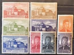 SPAIN 1930 - MLH - Sc# C31-C36, C38-C40 - 1889-1931 Kingdom: Alphonse XIII