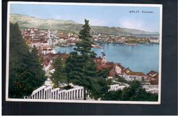 CROATIA Split- Panorama 1938 Old Postcard - Croacia