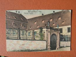 Cpa 9x14 DD NV Wissembourg Burger Spital Hopital Bon Etat - Wissembourg