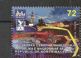 MACEDONIA NORTH,MAZEDONIEN, 2019,FAI,DRON,WORLD CUP,PRILEP,MNH - Macedonië