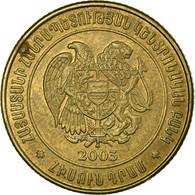 Monnaie, Armenia, 50 Dram, 2003, TTB, Brass Plated Steel, KM:94 - Armenië
