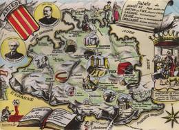 Ariège - Carte Plan Départemental - France