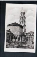 CROATIA Split - Stolna Crkva Ca 1930 Old Photo Postcard - Croacia