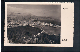 CROATIA Split Ca 1930 Old Photo Postcard - Croacia