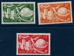 MON  1949/50  75ème Anniversaire De L'U.P.U.  N°YT 332-333  ** MNH - Ungebraucht