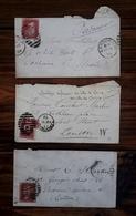 """"""" Communards """" En Exil à Londres , Henri Rochefort Et Constant Martin , La Commune , Blanquiste - Documenti Storici"""