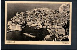 CROATIA Dubrovnik- Ragusa Ca 1930 Old  Postcard - Croacia
