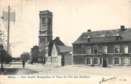 Belgique - Mons - Rue André Masquelier Et Tour Du Val Des Ecoliers - Mons
