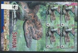 Samoa 1222-1225 Kleinbögen (kompl.Ausg.) Postfrisch 2015 Pazifik-Baumboa (9397312 - Samoa (Staat)