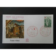 FDC - Croix Rouge - 12/12/1970 Poitiers - 1970-1979