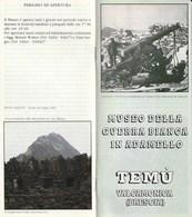 Militari - Guerra 1915-18 - TEMU' Valcamonica (BS) - Museo Della Guerra Bianca In Adamello - - Guerra 1914-18
