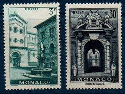MON  1951  Vues De La Principauté  N°YT 369-370  ** MNH - Monaco