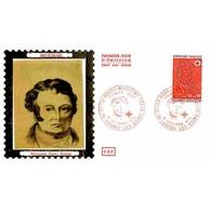 CEF Soie - Croix-rouge 1972 - François Broussais - 16/12/1972 Luxeuil-les-Bains - 1970-1979