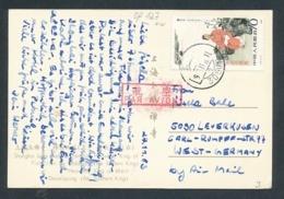 China Karte Nach Deutschland ...  (op127  ) Siehe Scan - 1949 - ... République Populaire